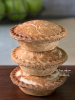 Individual and Mini Apple and Cream Cheese Pies