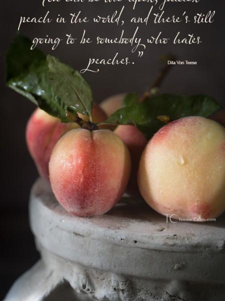 Babcock Peaches - Dita Von Teese quote