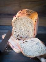 Sweet Potato, Pecan and Cinnamon Bread