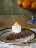 Torta Caprese GF (a flourless chocolate cake)