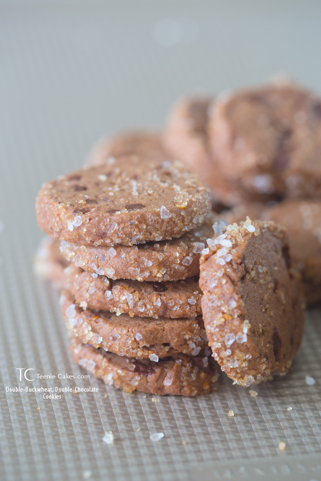 Dorie's Double-Buckwheat, Double-Chocolate Cookies